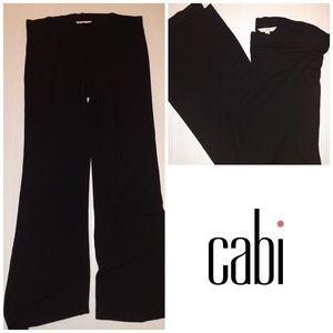 CAbi #105 Black Stretch Pants - M